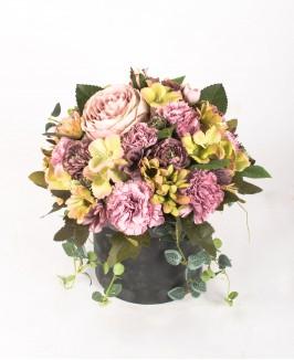 Dirbtinių gėlių kompozcija K1