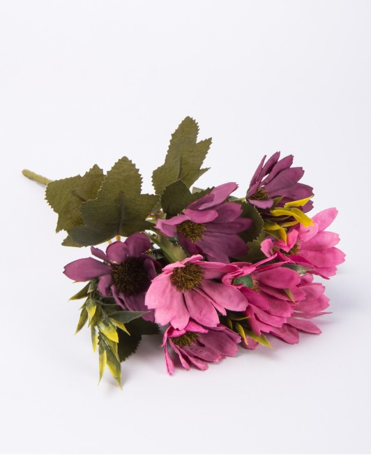 Dirbtinių ramunėlių puokštelė (rožinė)