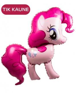 Helio balionas - rožinis arkliukas