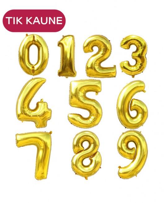 Helio balionai - auksiniai skaičiai