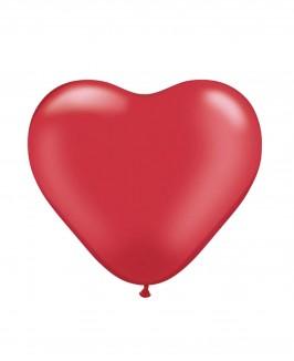 Širdelės formos helio balionas