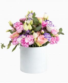 Šiltų spalvų gėlės