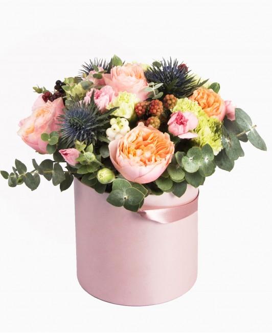 Įvairių gėlių dėžutė 2