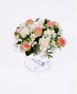 Vestuvinė gėlių dėžutė