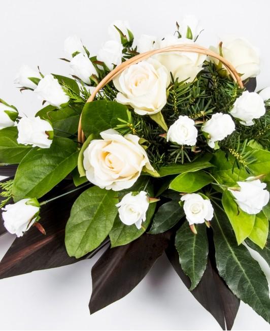 Gedulo gėlių krepšelis