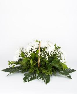Gedulinga kompozicija su chrizantemomis