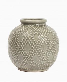 Keramikinė vaza (apvali)