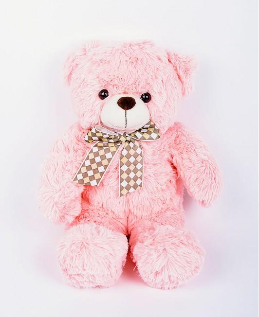 Minkštas pliušinis meškinas - 50cm (rožinis)