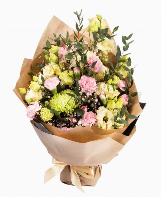 Įvairių gėlių puokštė 3