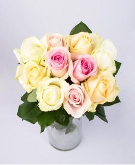 """Įvairiaspalvės rožės """"Avalan"""""""
