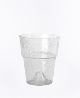 Stiklo vazonas Orchid skaidrus
