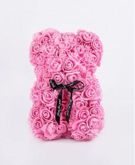 Kvepiantis gėlių meškiukas (rožinis)